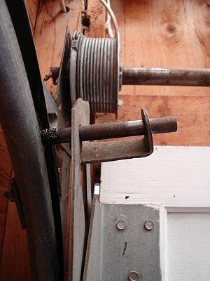 Garage door service required here