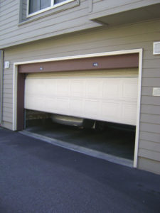 Harewood slide up sectional garage door