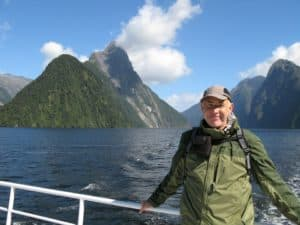 David Nuttall in Fiordland