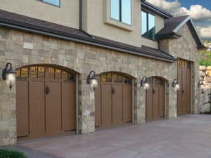 Multiple garage door installation