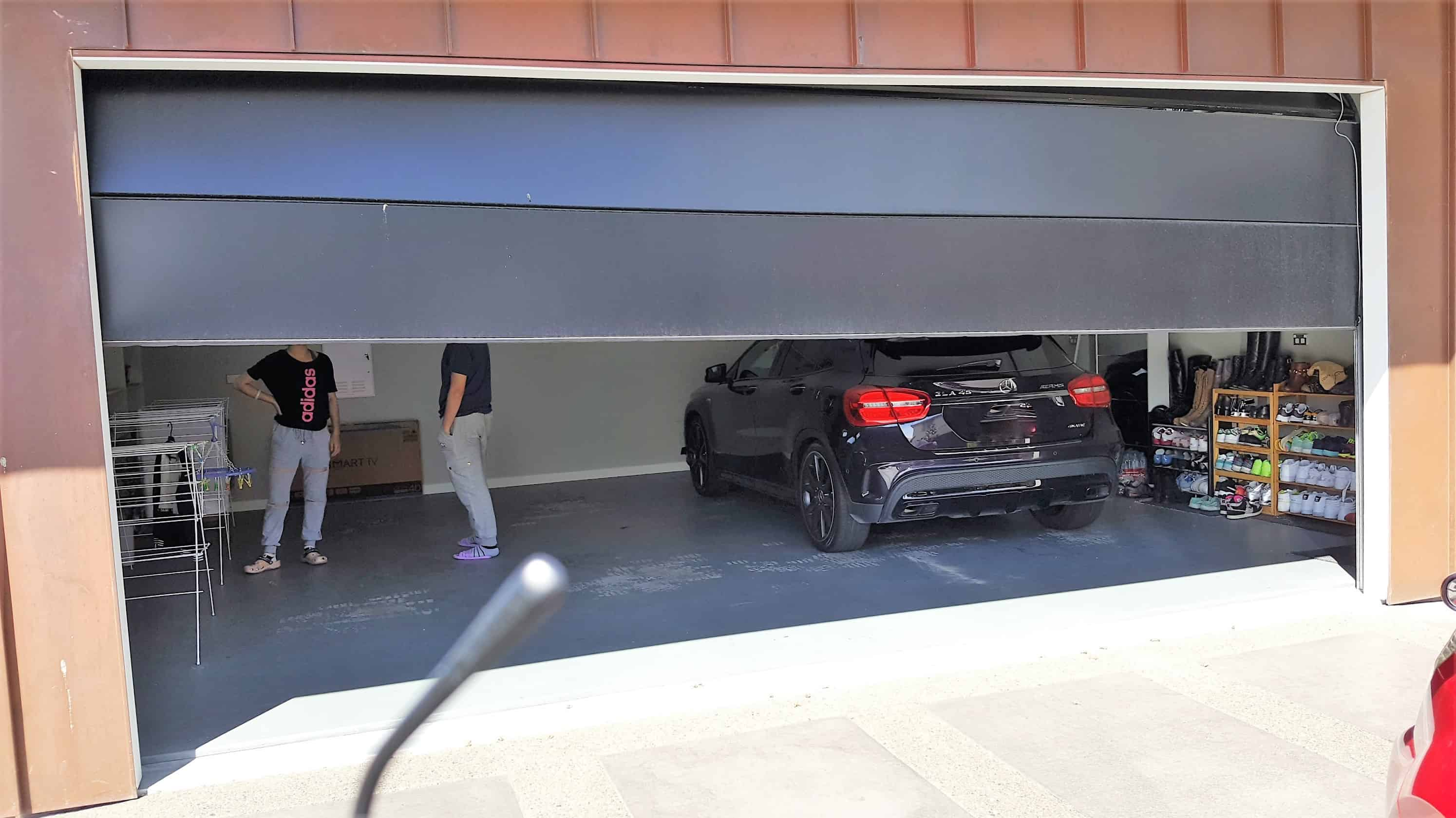 Specials from garage doors are us garage doors are us for Garage motor installation cost