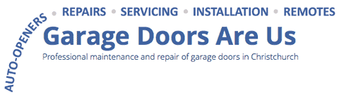 Garage Doors Are Us Company Logo NZ